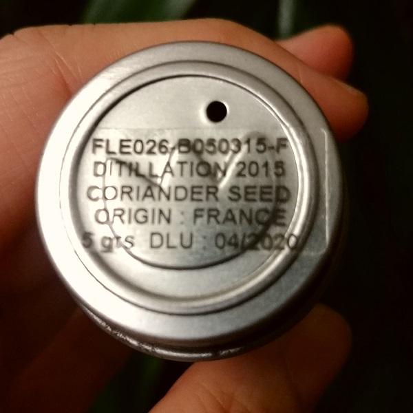 フロリハナ精油 コリアンダーシードオーガニック (5g/6ml)