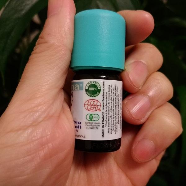 フロリハナ精油 レモンオーガニック (5g/6ml)